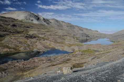 Les lagunes du vallon Cololo - Bolivie -