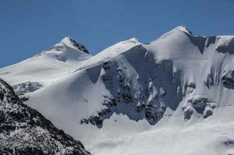 Plein cadre sur le Cerro Don Luis - Bolivie -