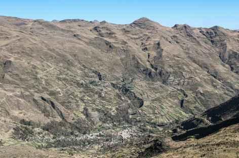 La vallée de Millipaya - Bolivie -