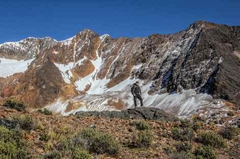 Montée au-dessus de Mina Santa Rosa - Bolivie -