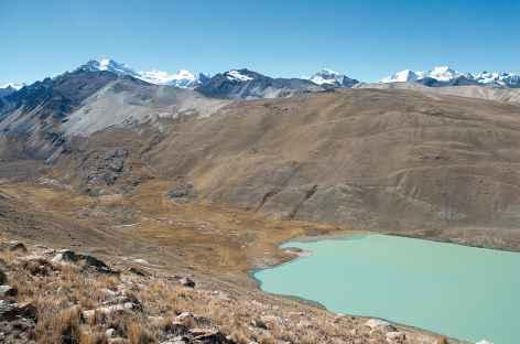 Plongée vers la lagune San Francisco - Bolivie -
