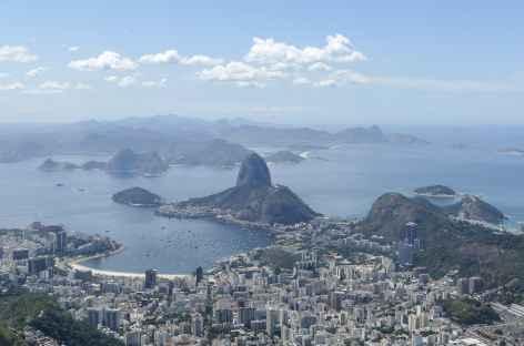 Rio, panorama depuis le Corcovado - Brésil -