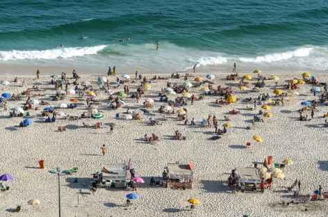 Rio, ambiance de plage - Brésil -