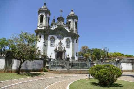 São João del Rei, l'église Saint François d'Assise - Brésil -
