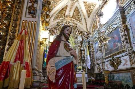 São João del Rei, intérieur de l'église Saint François d'Assise - Brésil -