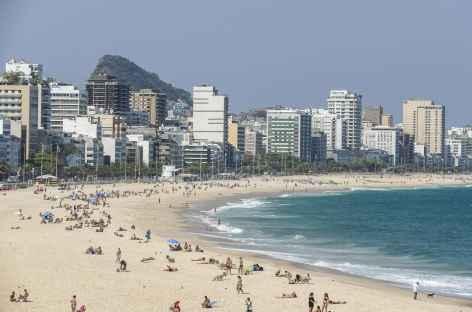 Rio, la plage d'Ipanema - Brésil -