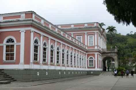 Pétropolis, le musée impérial - Brésil -