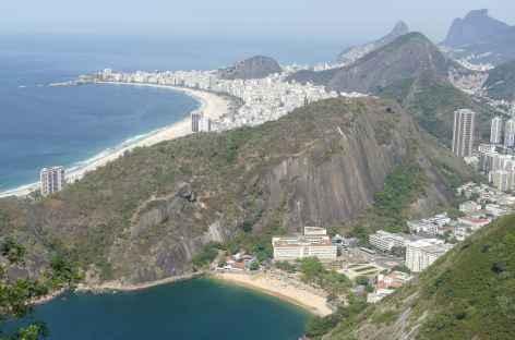 Rio, panorama depuis le sommet du Pain de Sucre - Brésil -
