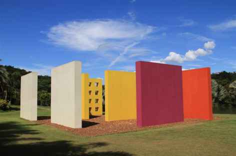 Visite du centre culturel Inhotim - Brésil -