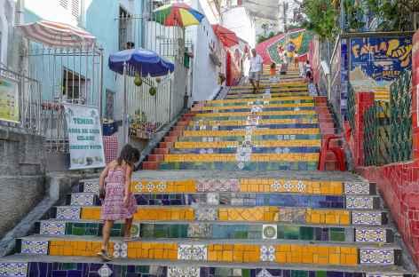 Rio, les céramiques de Jorge Sélaron - Brésil -