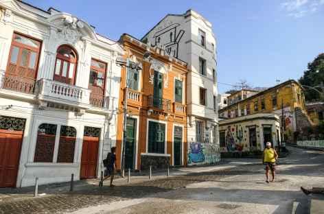 Rio, quartier coloré de Lapa - Brésil -