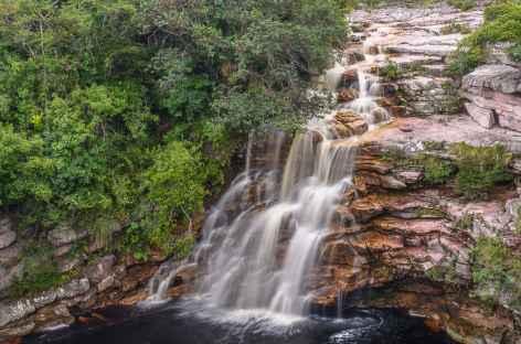 Cascade dans la Chapada Diamantina - Brésil -