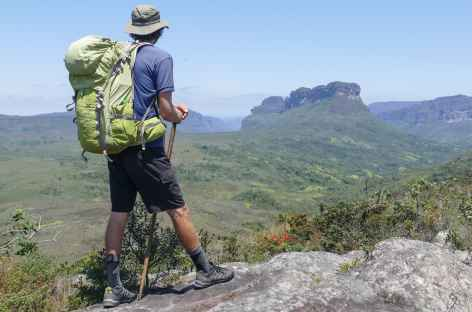 Vue sur les morros dans la Chapada Diamantina - Brésil -