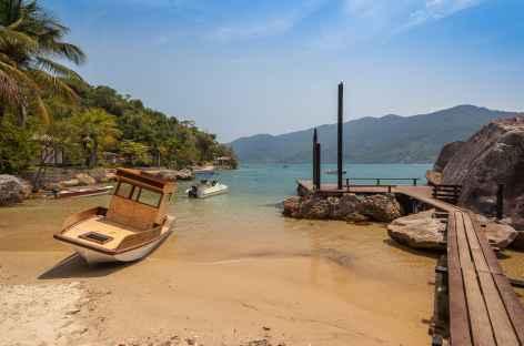 Au bord du fjord Mamangua - Brésil -