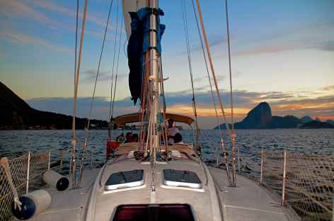 Rio, balade en bateau dans la baie de Guanabara - Brésil -