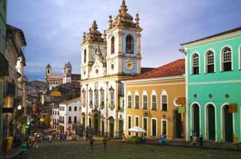 Salvador de Bahia, le quartier du Pelourinho - Brésil -