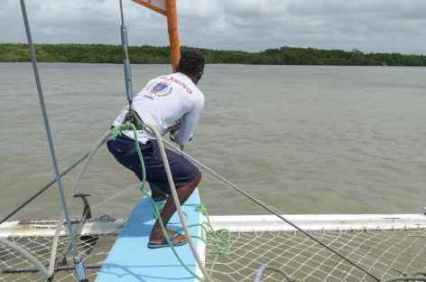 Embarquement pour Alcantara - Brésil -