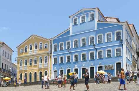 Salvador de Bahia, la maison Jorge Amado dans le quartier du Pelourhino - Brésil -
