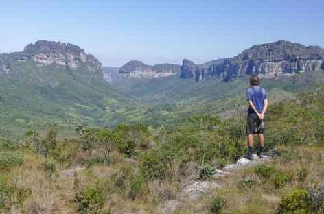 Vue sur la vallée do Pati dans la Chapada Diamantina - Brésil -