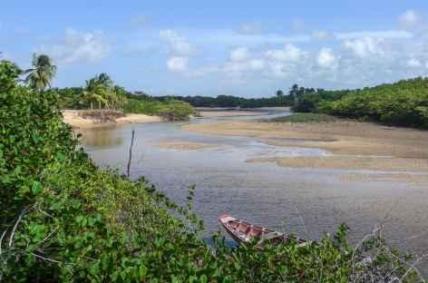Navigation sur le rio Preguiças - Brésil -