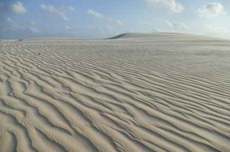 Trek dans les dunes du parc national Lençois Maranhenses - Brésil -
