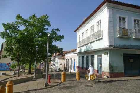 Dans la ville coloniale de Sao Luis - Brésil -