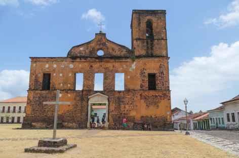Eglise en ruine à Alcantara - Brésil -