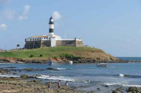 Salvador de Bahia, le phare de Barra - Brésil -