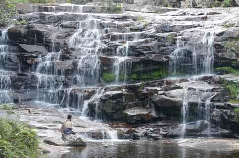 Cascade sur le rio Pati dans la Chapada Diamantina - Brésil -
