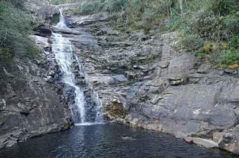 Baignade sur le rio Pati dans la Chapada Diamantina - Brésil -