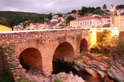 La jolie ville coloniale de Lençois, porte d'entrée de la Chapada Diamantina - Brésil -