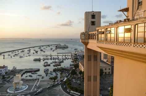 Salvador de Bahia, ascenseur art déco Lacerda - Brésil -