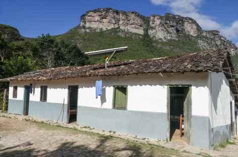 Notre hébergement pour la nuit dans la Chapada Diamantina - Brésil -