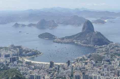 Vue sur le Pain de Sucre depuis Corcovado - Brésil -
