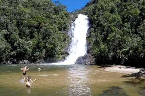 Baignade dans la Serra da Bocaina - Brésil -