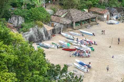 Arrivée au village de Ponta Negra - Brésil -