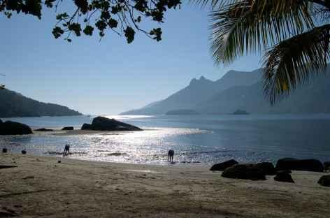 Au bord du fjord de Mamangua - Brésil -