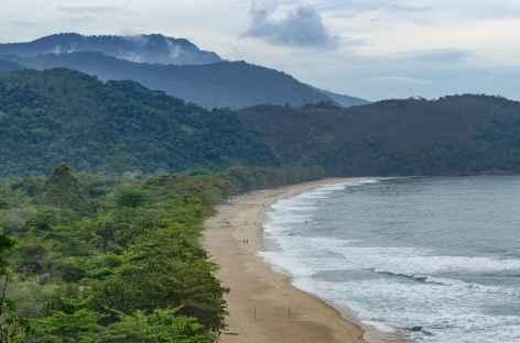 Vue sur la plage Sono - Brésil -