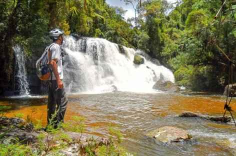 Cascade dans la Serra da Bocaina - Brésil -