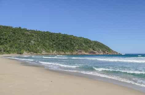 Une plage dans les environs de Paraty - Brésil -