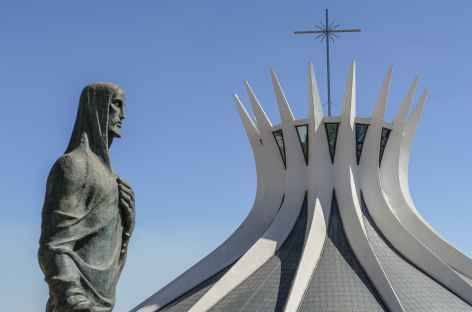 Brasilia, la cathédrale - Brésil -
