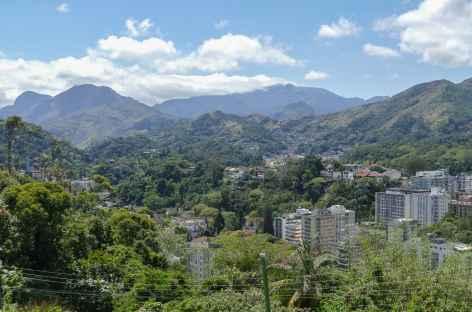 Panorama sur Pétropolis - Brésil -