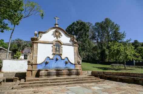 La fontaine de Tiradentes - Brésil -