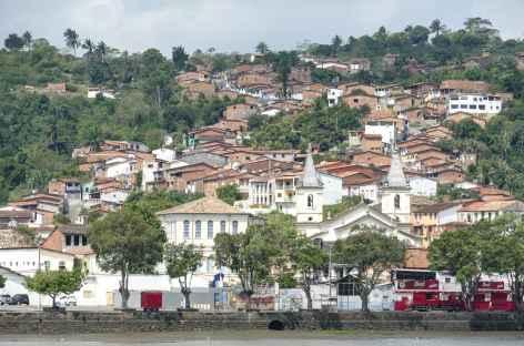 Reconcavo, vue sur le village de Sao Felix - Brésil -