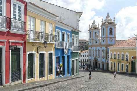 Salvador de Bahia, quartier du Pelourhino - Brésil -