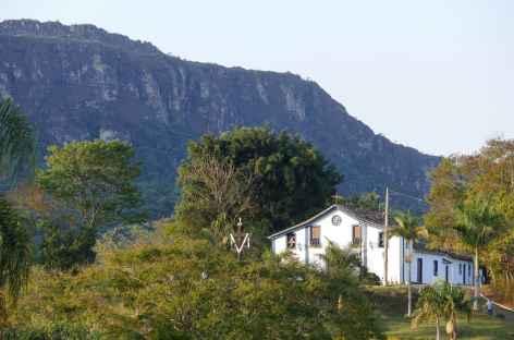 Tiradentes au pied de la Serra de São José - Brésil -