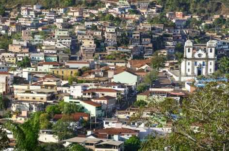 Panorama sur Congonhas - Brésil -