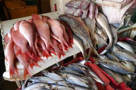Passage sur un marché à Salvador de Bahia - Brésil -
