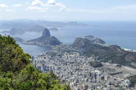 Vue sur le pain de Sucre depuis le Corcovado - Brésil -