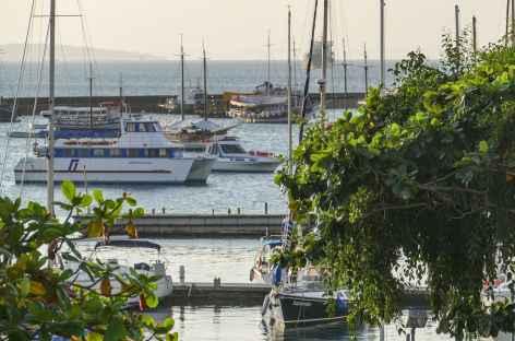 Salvador de Bahia, le soleil se couche sur la baie de Tous les Saints - Brésil -